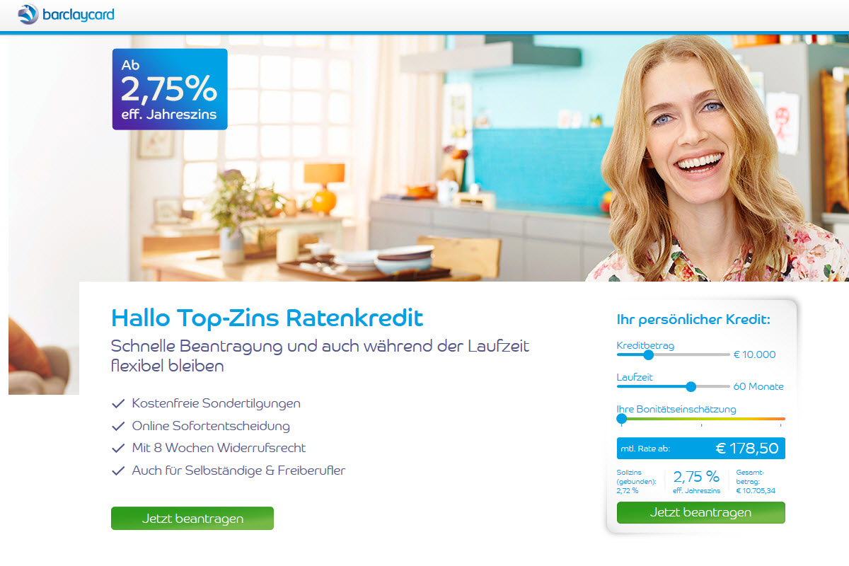 Barclaycard Homepage