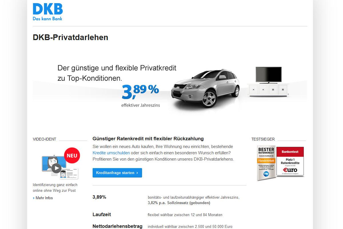 DKB Homepage