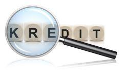 Kredit unter der Lupe