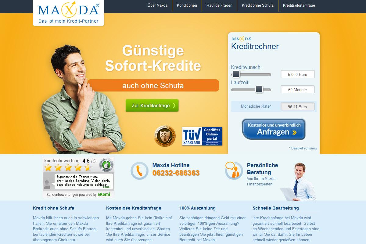 Maxda Homepage